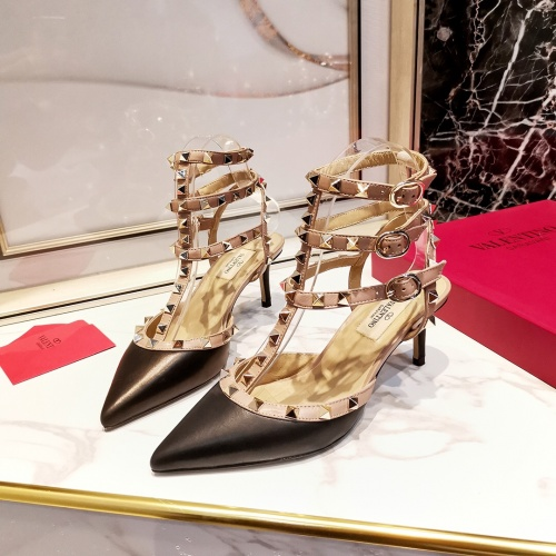 Valentino High-Heeled Shoes For Women #871504 $85.00 USD, Wholesale Replica Valentino High-Heeled Shoes