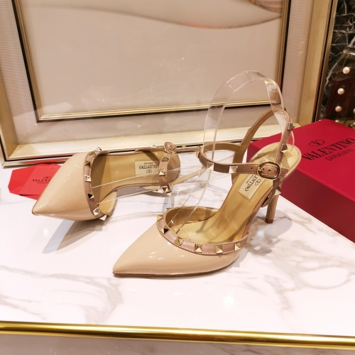 Replica Valentino High-Heeled Shoes For Women #871531 $81.00 USD for Wholesale