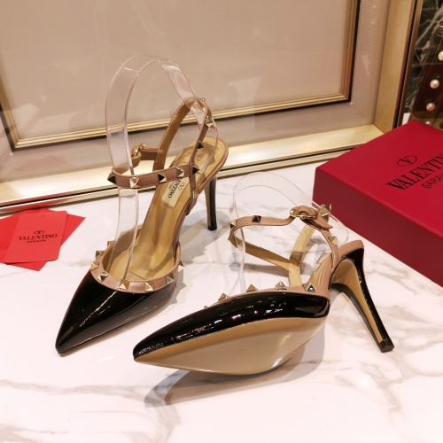 Replica Valentino High-Heeled Shoes For Women #871532 $81.00 USD for Wholesale