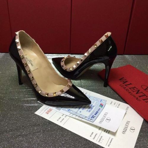 Replica Valentino High-Heeled Shoes For Women #871534 $81.00 USD for Wholesale