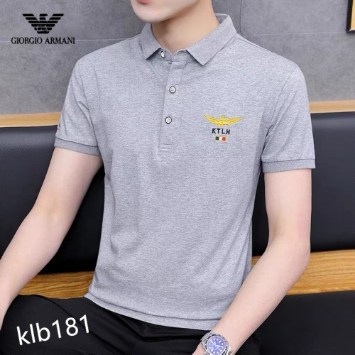 Armani T-Shirts Short Sleeved For Men #871579