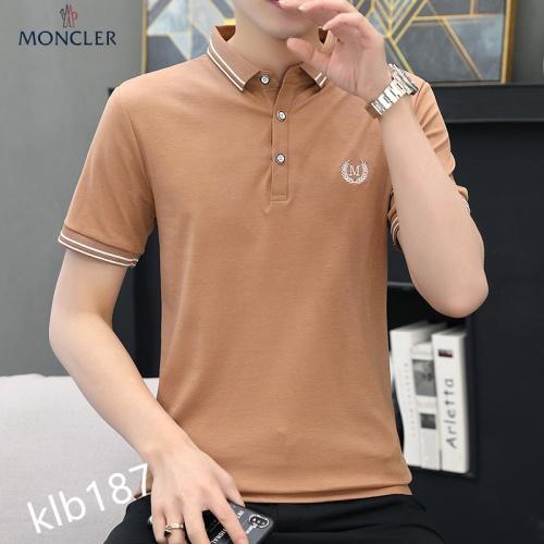 Moncler T-Shirts Short Sleeved For Men #871583