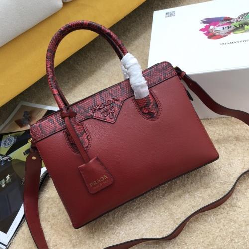 Prada AAA Quality Handbags For Women #871670
