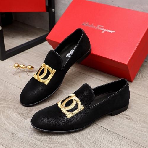 Ferragamo Leather Shoes For Men #872132