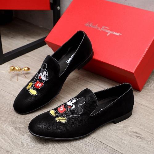Ferragamo Leather Shoes For Men #872133