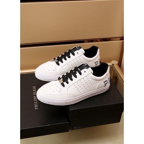 Replica Philipp Plein Shoes For Men #872165 $85.00 USD for Wholesale