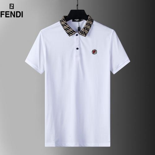 Fendi T-Shirts Short Sleeved For Men #872239