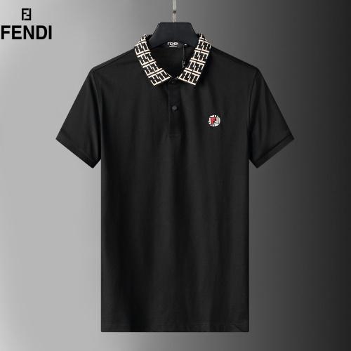 Fendi T-Shirts Short Sleeved For Men #872240