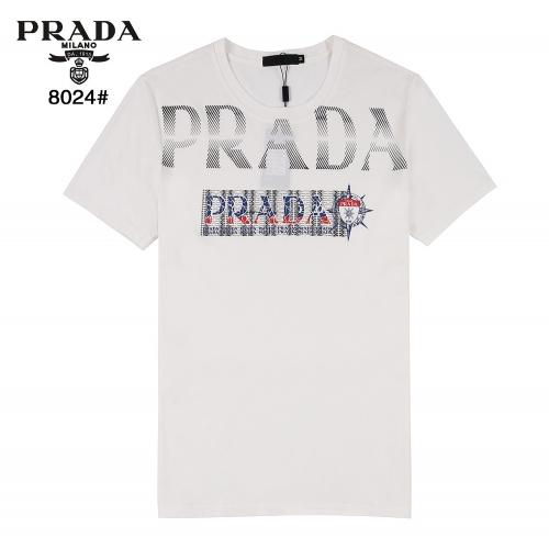 Prada T-Shirts Short Sleeved For Men #872266