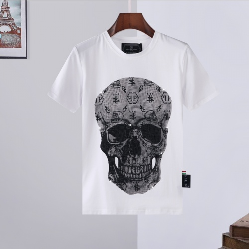 Philipp Plein PP T-Shirts Short Sleeved For Men #872471 $29.00 USD, Wholesale Replica Philipp Plein PP T-Shirts