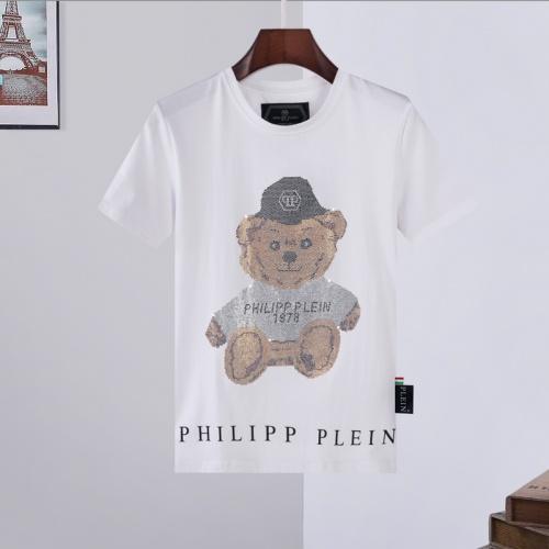 Philipp Plein PP T-Shirts Short Sleeved For Men #872475 $29.00 USD, Wholesale Replica Philipp Plein PP T-Shirts