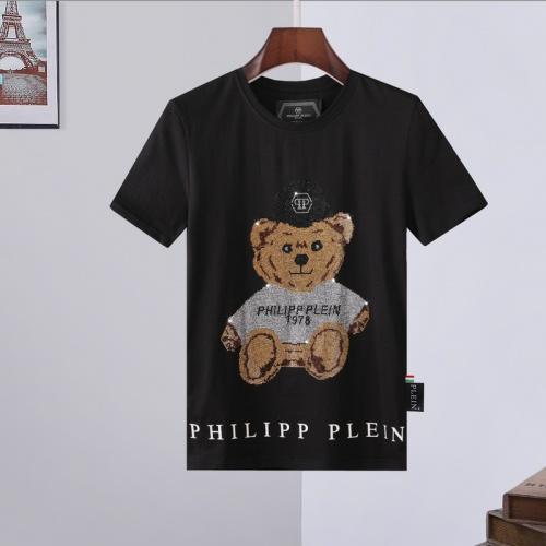 Philipp Plein PP T-Shirts Short Sleeved For Men #872476 $29.00 USD, Wholesale Replica Philipp Plein PP T-Shirts