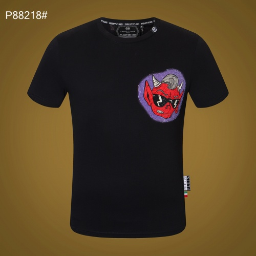 Replica Philipp Plein PP T-Shirts Short Sleeved For Men #872477 $32.00 USD for Wholesale