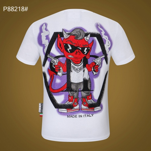 Philipp Plein PP T-Shirts Short Sleeved For Men #872478 $32.00 USD, Wholesale Replica Philipp Plein PP T-Shirts