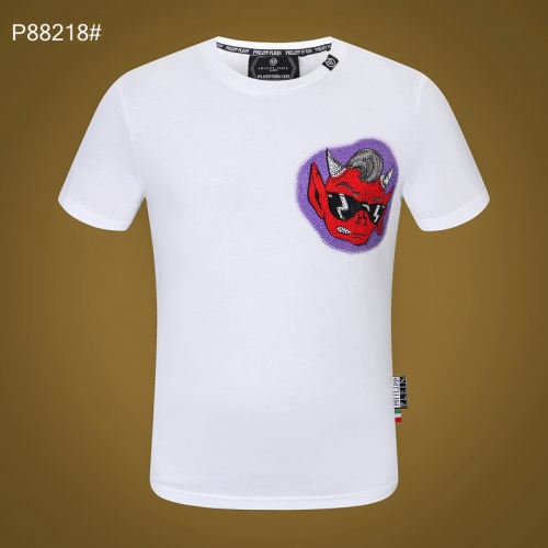 Replica Philipp Plein PP T-Shirts Short Sleeved For Men #872478 $32.00 USD for Wholesale