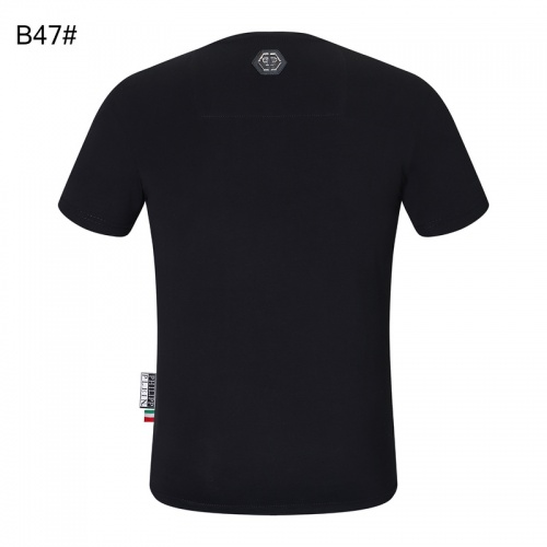 Replica Philipp Plein PP T-Shirts Short Sleeved For Men #872480 $29.00 USD for Wholesale