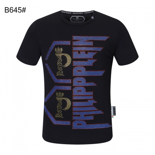 Philipp Plein PP T-Shirts Short Sleeved For Men #872481 $29.00 USD, Wholesale Replica Philipp Plein PP T-Shirts