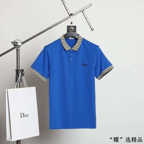 Christian Dior T-Shirts Short Sleeved For Men #872564
