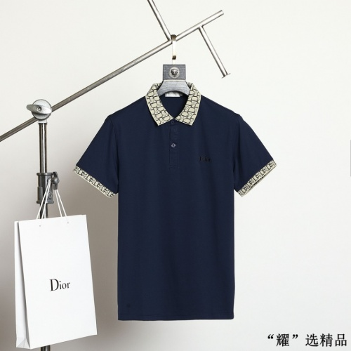 Christian Dior T-Shirts Short Sleeved For Men #872565