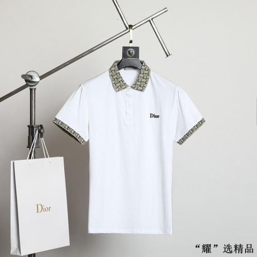 Christian Dior T-Shirts Short Sleeved For Men #872567