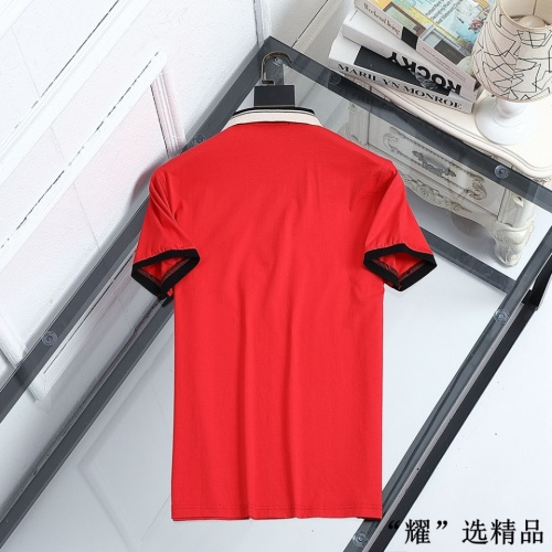 Replica Versace T-Shirts Short Sleeved For Men #872568 $42.00 USD for Wholesale