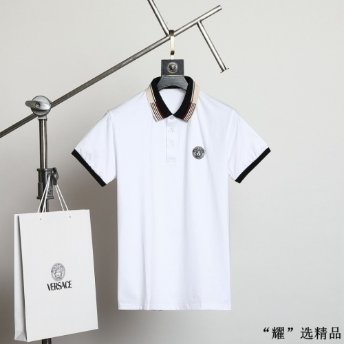 Versace T-Shirts Short Sleeved For Men #872569 $42.00 USD, Wholesale Replica Versace T-Shirts