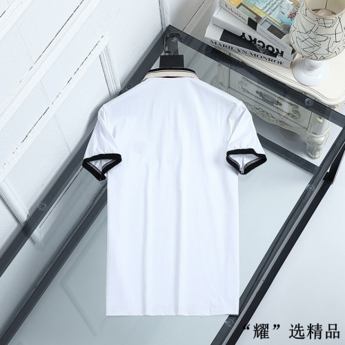 Replica Versace T-Shirts Short Sleeved For Men #872569 $42.00 USD for Wholesale
