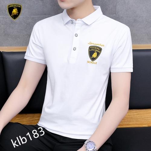 Lamborghini New T-shirt Short Sleeved For Men #872615