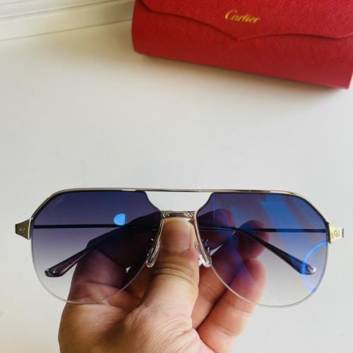 Cartier AAA Quality Sunglasses #872694