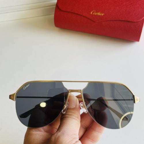 Cartier AAA Quality Sunglasses #872697