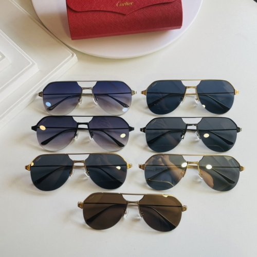 Replica Cartier AAA Quality Sunglasses #872700 $48.00 USD for Wholesale