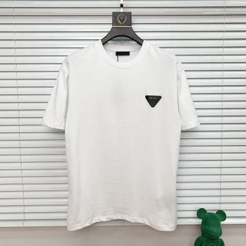 Prada T-Shirts Short Sleeved For Men #872950