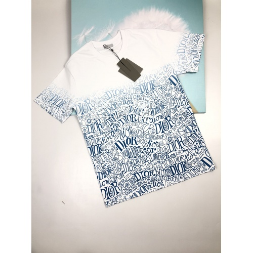 Christian Dior T-Shirts Short Sleeved For Men #872954