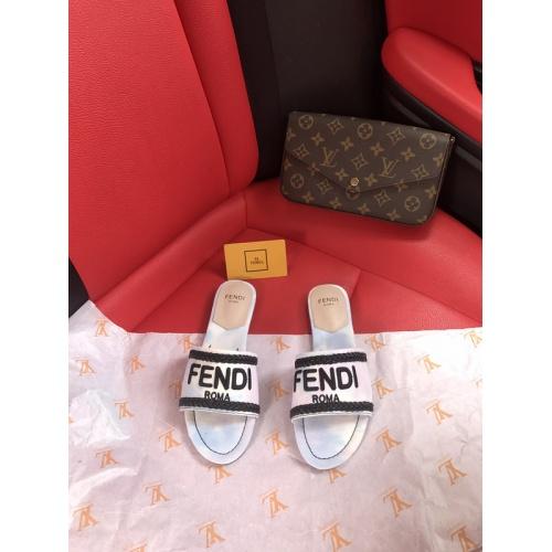 Fendi Slippers For Women #873046