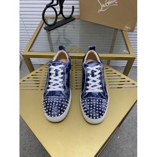 Replica Christian Louboutin Fashion Shoes For Men #873123 $92.00 USD for Wholesale