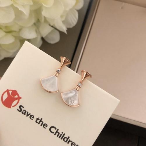 Bvlgari Earrings #873202 $38.00 USD, Wholesale Replica Bvlgari Earrings
