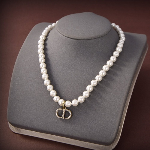 Christian Dior Necklace #873233 $29.00 USD, Wholesale Replica Christian Dior Necklace