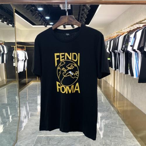 Fendi T-Shirts Short Sleeved For Men #873301