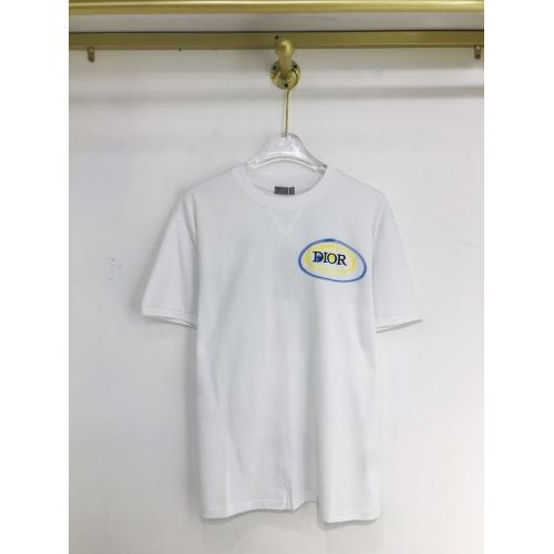 Christian Dior T-Shirts Short Sleeved For Men #873363