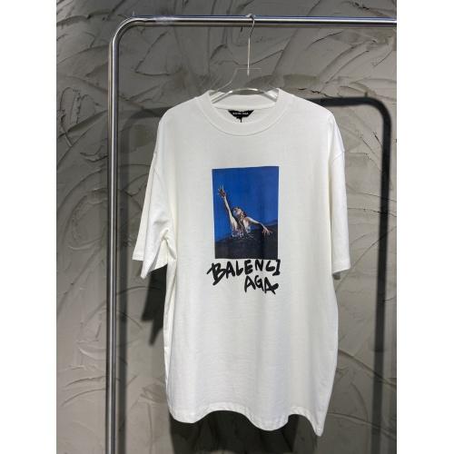 Balenciaga T-Shirts Short Sleeved For Men #873834