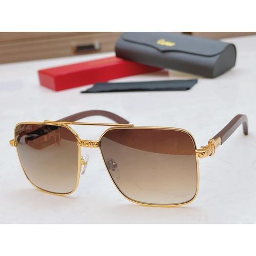 Cartier AAA Quality Sunglasses #873845
