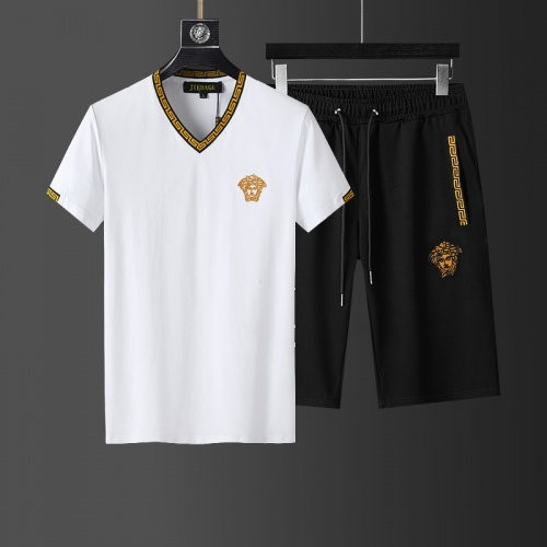Versace Tracksuits Short Sleeved For Men #874090