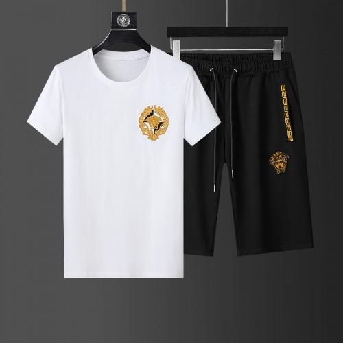 Versace Tracksuits Short Sleeved For Men #874096