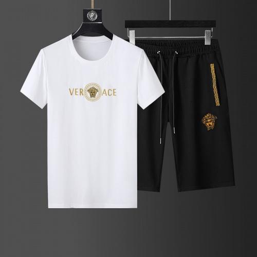 Versace Tracksuits Short Sleeved For Men #874100
