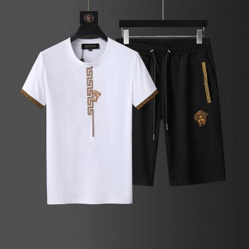 Versace Tracksuits Short Sleeved For Men #874105