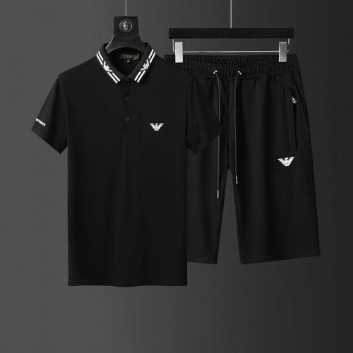 Armani Tracksuits Short Sleeved For Men #874144