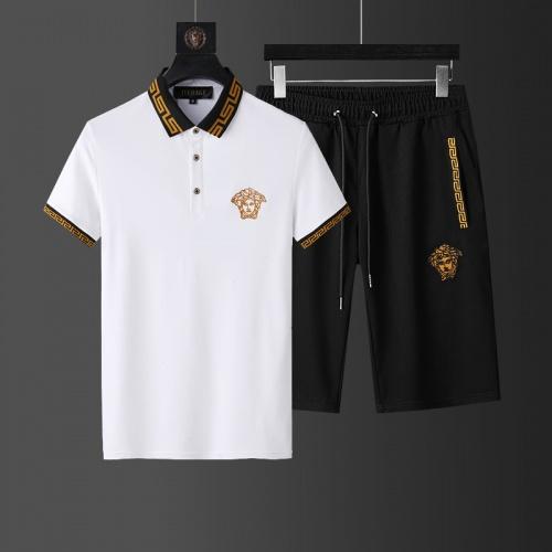Versace Tracksuits Short Sleeved For Men #874155