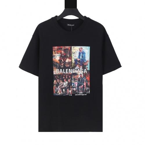 Balenciaga T-Shirts Short Sleeved For Men #874296