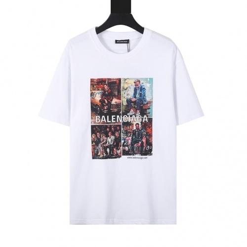Balenciaga T-Shirts Short Sleeved For Men #874297