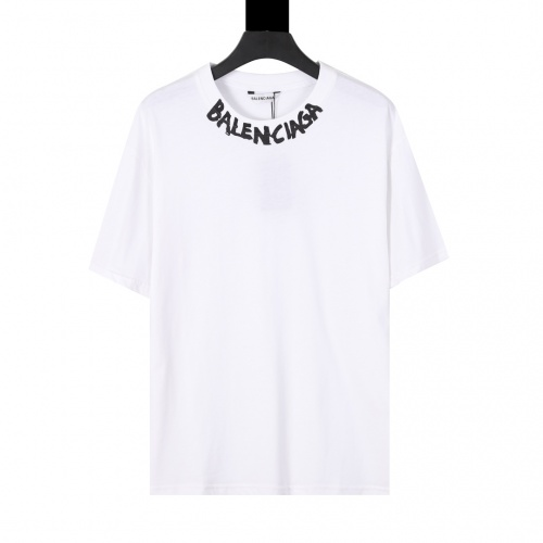 Balenciaga T-Shirts Short Sleeved For Men #874301